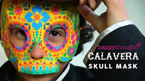 mardi gras skull mask diy paper calavera skull mask tutorial and template make a