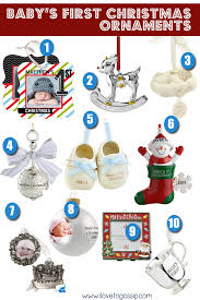 baby s ornaments gift guide 2013