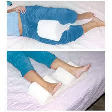 Back Support Cushion For Bed Leg Wedge Pillow Memory Foam Contour Leg Pillow That Relieves