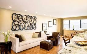 decoration of living room walls rattan sofa design cream exposed