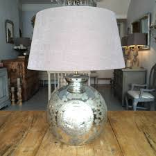 glass floor lighting decorative and antique mercury glass table lamp for your