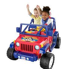 barbie jeep power wheels fisher price power wheels wonder woman jeep wrangler mattel