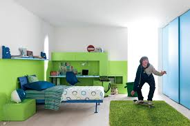 bedroom colors for kids with chic colorful wall color combined