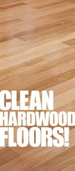 clean your hardwood floors clean my space