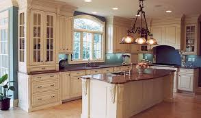 Ivory Kitchen Ideas Counters Ivory Cabinets Vintage Look Bar Stools Dickoatts Tierra