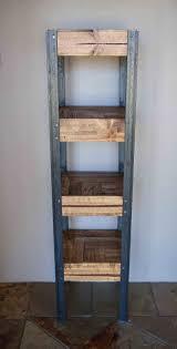 Pallet Wood Bookshelf Pallet Wood Bookshelf