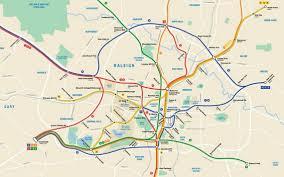 Raleigh Nc Map Raleigh Designer Creates Hypothetical Subway Map News U0026 Observer