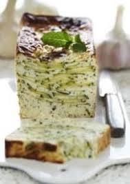 cuisine notre famille terrine courgette chevre ail et menthe zucchini goat cheese