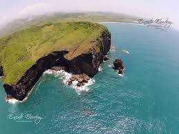 vista aérea de roca partida municipio de san andrés tuxtlas