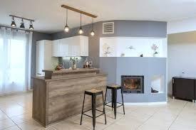 photo cuisine semi ouverte cuisine semi ouverte une cuisine semi ouverte avec bar cyq