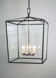 Lantern Ceiling Light Fixtures Square Box Cage Lantern Model No H1340h Copper Lantern Lighting