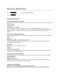 Librarian Resumes For Public Review Nicolas Resteiner Hiring Librarians