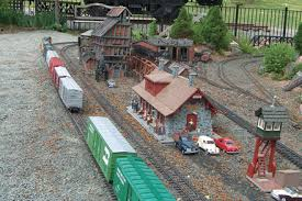 garden rail locomotives and layouts in