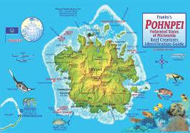 Micronesia Map Micronesia Diving Chuuk Lagoon Palau Yap Pohnpei Rota Guam Saipan