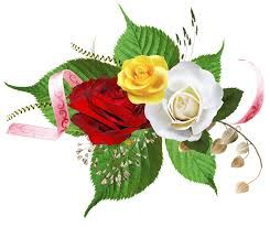free illustration flowers roses with ornament free image on