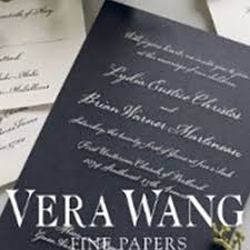 Vera Wang Wedding Invitations Classy Paperie Wedding Invitations Hawthorn Easy Weddings