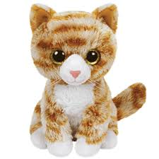 ty beanie boo 8 booties tabby cat beanies soft toy plush