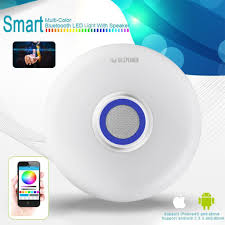 led ceiling lights with build in music bluetooth speaker 2win2buy