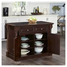 home styles monarch kitchen island monarch kitchen island with granite top with two chairs cherry