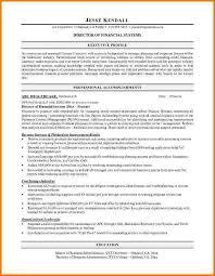 director of finance resume 9 finance resume sample financial statement form