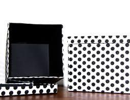 polka dot boxes hostess gift elizabethkaydesign