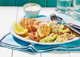 leichte küche für abends hähnchen mit gurken couscous sommer leichte küche für jeden tag