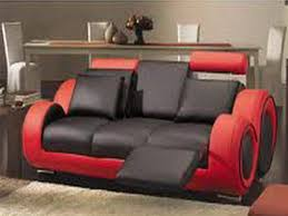 Red Sofas In Living Room Modern Red And Black Sectional Sofa Black And Red Living Room