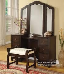 Vanity Mirror And Bench Set 3pc Elizabeth Vanity Set Vanity Table Mirror Bench Set Bedroom