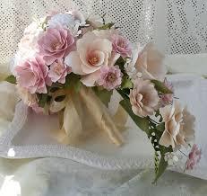 Cascading Bouquet Paper Bouquet Cascading Bouquet Paper Flower Bouquet