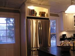 gap between fridge and cabinets how to use the awkward space above the fridge youtube