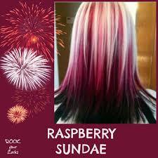 raspberry sundae hair colour inspiration rock your locks hair