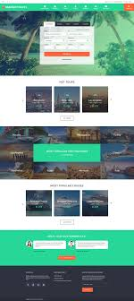 responsive web design layout template travel responsive website template website template and website