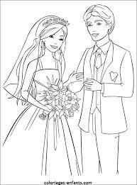 dessin mariage coloriage de mariage à imprimer sur coloriages enfants