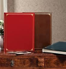 leather scrap book leather scrapbook albums leather oversized scrapbook leather