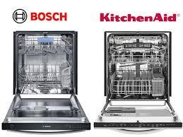 Dishwasher Decibel Level Comparison Comparing Kitchenaid Dishwashers To Bosch Dishwashers Fred U0027s