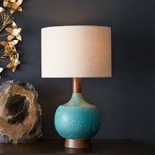 Midcentury Modern Lamps - modernist table lamp west elm