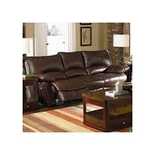 Coaster Leather Sofa Clifford Brown Leather Reclining Sofa By