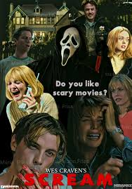 wes craven u0027s scream 1996 horror movie slasher edit by mario frias