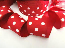 polka dot ribbon embellishment world ribbon grosgrain polka dot size 1 5