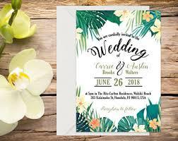 tropical wedding invitations tropical wedding invitation destination wedding