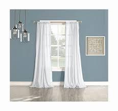 95 Inch Curtain Panels Best 95 Inch White Sheer Curtains 2018 Curtain Ideas