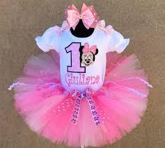 minnie mouse 1st birthday pretty in pink minnie mouse 1st birthday tutu