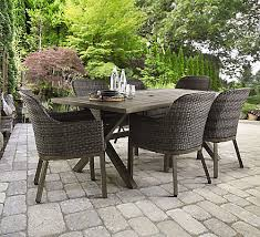 7pc Patio Dining Set 798 The 7 Pc Crown View Dining Set Is Constructed Using A Two
