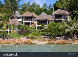tropical beach house on island koh stock photo 93063859 shutterstock