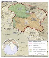 Map Of India And Pakistan by Modern Index