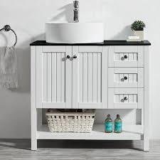 Vanity Set Bathroom Beachcrest Home Nadel 36 Single Bathroom Vanity Set Reviews