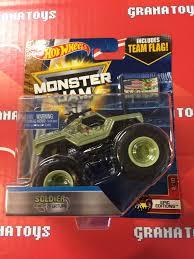 monster jam monster trucks toys soldier fortune 2 10 epic editions 2017 wheels monster jam
