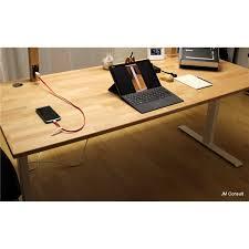 tablette de bureau tablette de bureau en hêtre lamellé collé de 2 6 cm