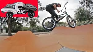 rc car vs backyard bmx park woozy bmx video magazine