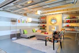 garage living space garage converted to living space create cozy atmosphere
